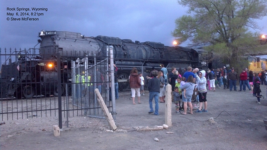 The 4014 in Rock Springs, Wyoming in May 2014