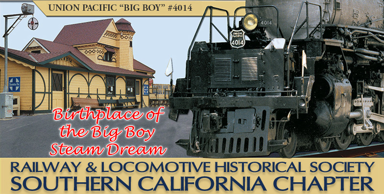 Railway and Locomotive Historical Society Banner Image